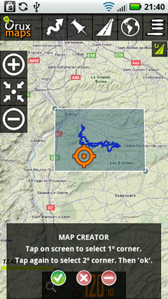 Carte Corse Oruxmaps.Smartphone Sous Android Et Trace Gpx Oruxmap Page 7